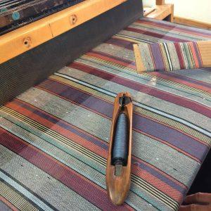 Yardage on the loom