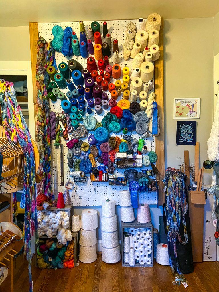 Sydney Sogol - Wall of Yarn