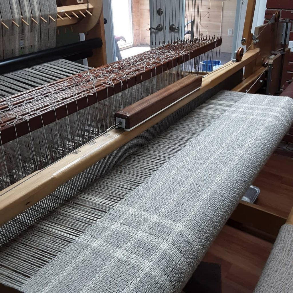 Lilly marsh - Fabric on Loom