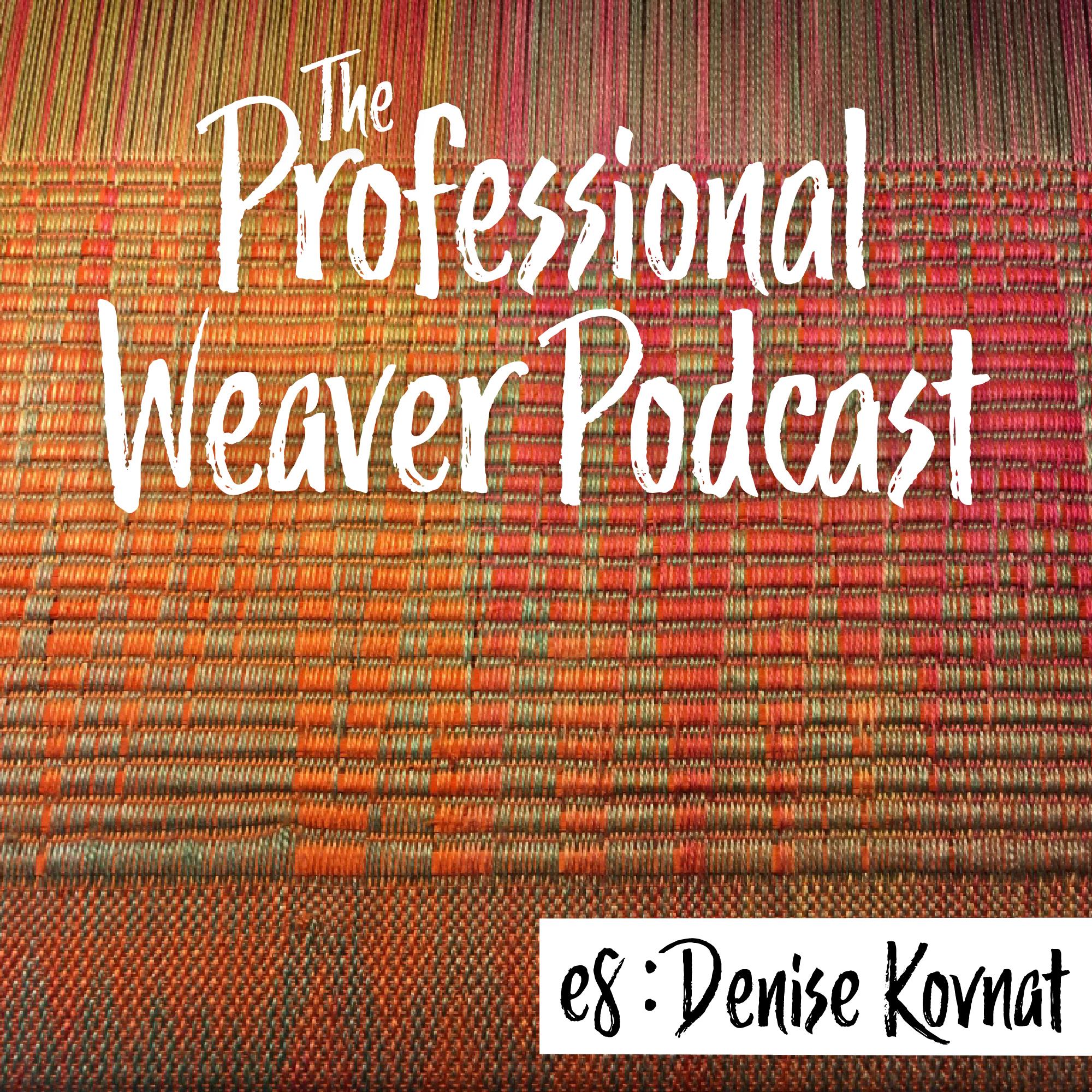 Professional Weaver Podcast : Episode 8 : Denise Kovnat