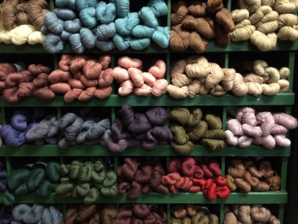 JaggerSpun Yarn in Display