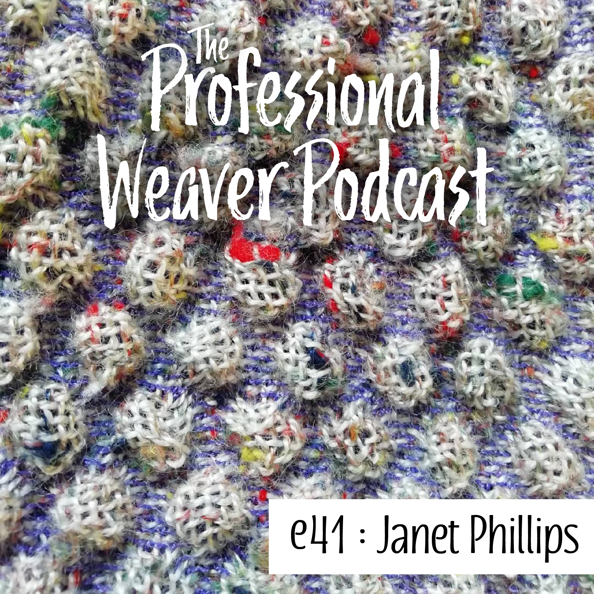 S2E11 : Janet Phillips on becoming a weaver, teaching woven design, the importance of sampling to understand structure, and more